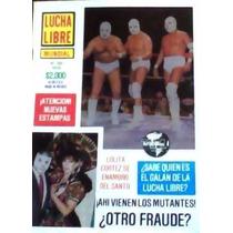 Revista De Lucha Libre,hijo Del Santo,ultraman,la Ola Blanca