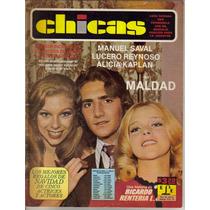 Fotonovela Chicas: Manuel Saval, Lucero Reynoso, Alicia K.
