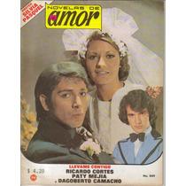 Fotonovela Amor: Ricardo Cortes, Paty Mejia, Dagoberto C.