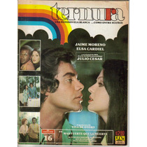Fotonovela Ternura: Jaime Moreno Y Elsa Cardiel