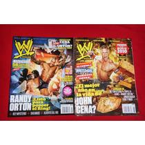 Wwe Revistas Lote De 2 / John Cena Y Randy Orton.
