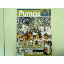 Pumas Revista Penta Campeon Año 2004