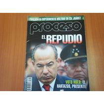 Revista Proceso 1705, El Repudio Voto Nulo, Cd Juarez