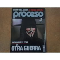 Revista Proceso 1827, Anonymous Vs Zetas. Noviembre 2011
