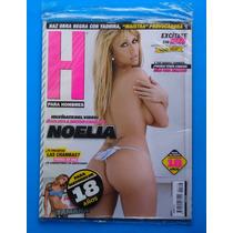 Revista H Para Hombres Noelia C/poster Como Nueva