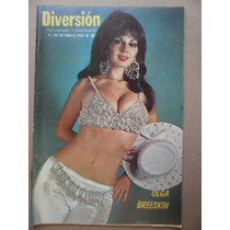 Olga Breeskin Sexy Foto En Portada Revista Diversion 1974