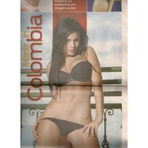 Andrea Rincón Selena Spice En Reportaje Periódico De 2007