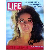 Revista, Life En Español, Elizabeth Taylor En Portada