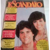 Revista Escandalo,marie Y Donny Osmond,lucia Mendez Cassidy