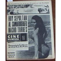 Revista Cinemundial, Elvis Presley, Isabel Montalvo