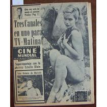 Revista Cinemundial, Estella Blain, Magali Noel, Resortes