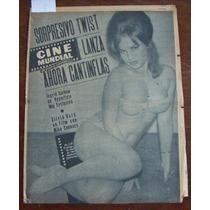 Revista Cinemundial, Ingrid Garbow En Portada, Cantinflas