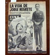 Revista Cinemundial,jorge Negrete,cantinflas
