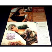 Sasha Montenegro Lote De Coleccion De Recortes De Revistas