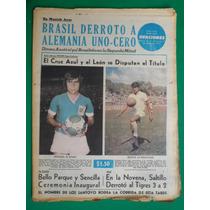 1973 Leon Y Cruz Azul Disputan El Titulo Futbol Periodico