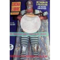 Revista De Lucha Libre,mil Mascaras,unica De Coleccion!!