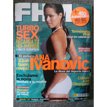 Revista Fhm Ana Ivanovic De Coleccion