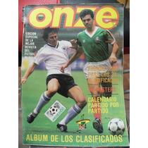 Revista Onze, Mundial Futbol Mexico 1986, Mexico Seleccion