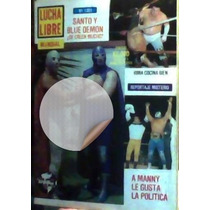 Revista De Lucha Libre,hijo Del Santo ,blue Demon Jr!!unica