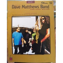 Libro Dave Matthews Band, Guitar Easy, En Ingles