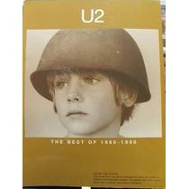 Libro Grupo U2, The Best Of 1980-1990, En Ingles