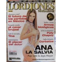Revista Lordjones,ana La Salvia, En Español