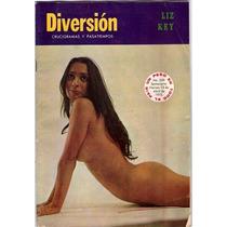 Diversion Revista Pasatiempos No.359 Abril 1973 Rarisima