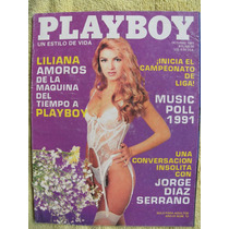 Revista Play Boy Liliana Amoros Fotos Desnuda, Español