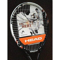 Raqueta Para Tennis, Head Heat Microgel Nueva!