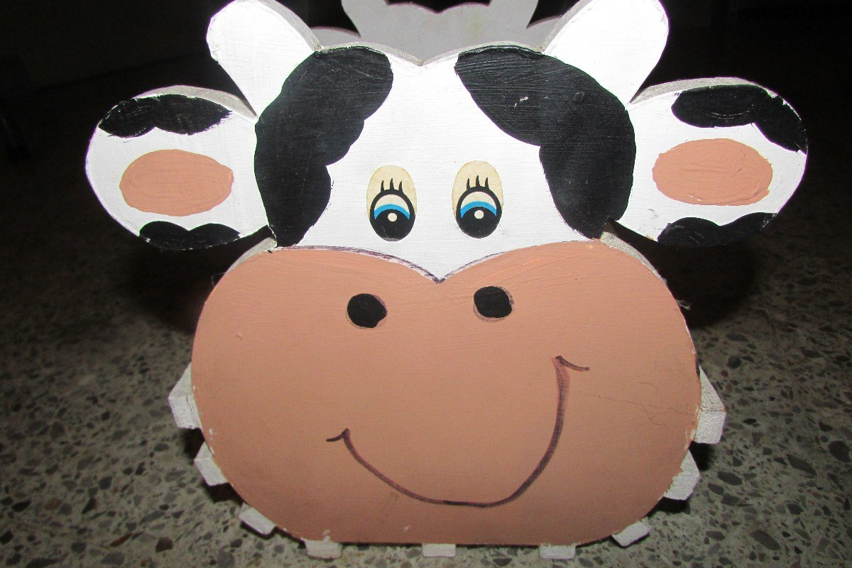 Revistero De Madera 100% Pino, Con Cara De Vaca - $ 80.00 en ...