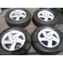 4 Rines Renault Duster R16 Con Michelin $8500 Jgo