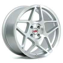 Rines 17x9 4-100 M Er-062 Et 25 Color Metal Silver ¡nuevos!