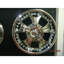 Rines 17x7.5 5-112/ 115 Limited #311 Cromados Nuevos
