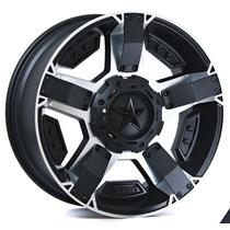 Rines 18x9 6-135/ 139.7 M Xd811 Color Negro Pulido Et 00 New