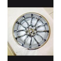Rin Gatlin 6x139.7, 22x9.5 Cromado Chevrolet