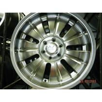 Rines 20 X 8.5 5-127 Y 6-135 Kromma #1250 Silver Brasil