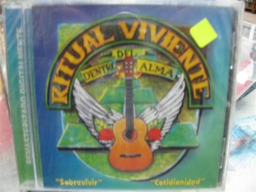 Ritual Viviente Sobrevivir + Cotidianidad Cd Sellado Rgl