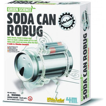 4m Robot Escarabajo Soda Can Robug Kit P/armar Ciencia