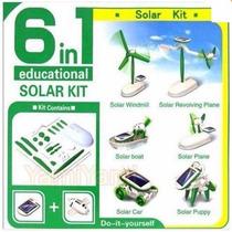 Kit Solar Armable Juguete Didáctico Solar