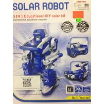 Kit 3 En 1 Proyecto Estudiantes Celda Solar