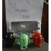 Lote 3 Robots Android Camina Cuerda Walking Rojo Verde Negro