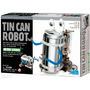 4m Tin Can Robot Electrico Kit De Ciencia P/armar