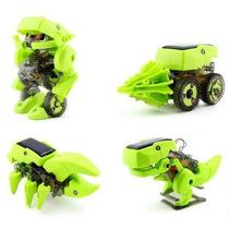 Robot Solar Armable 4 En 1 Educativo , Transformer