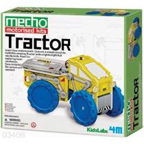 4m Robot Tractor Kit P/ Armar Ciencia Didactico Motorizado
