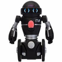 Mip Robot Sensor De Movimiento Y Sonido Luces Led Rgb Negro