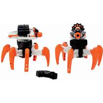 Nerf Radiocontrol Robot Araña Terra Drone 2.4 Gz 12 Disparos