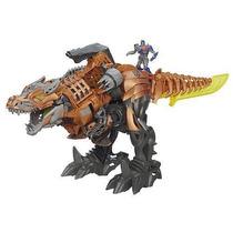 Transformes Grimlock Electronico Con Optimus Prime 50 Cm