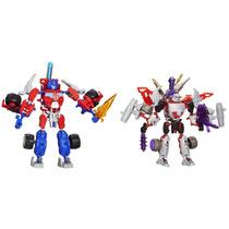 Tb Muñecos Transformers Optimus Prime Vs. Megatron