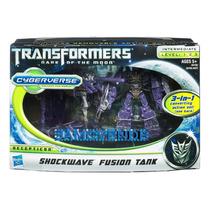 Transformers Shockwave Fussion Tank Cyberverse Decepticon