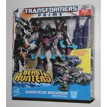 Transformers Beast Hunters Sharkticon Megatron Voyager